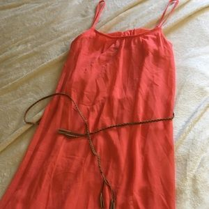 Forever 21 coral maxi dress